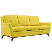 "Modway Beguile 83.5""W Fabric Sofa, Yellow (EEI-1800-SUN)"