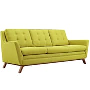 "Modway Beguile 83.5""W Fabric Sofa, Green (EEI-1800-WHE)"