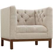 "Modway Panache 34""W Fabric Armchair, Brown (EEI-1801-BEI)"
