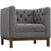 "Modway Panache 34"" Fabric Armchair, Gray (EEI-1801-DOR)"
