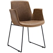 "Modway Aloft 23.5"" Fabric Armchair, Brown (EEI-1806-BRN)"
