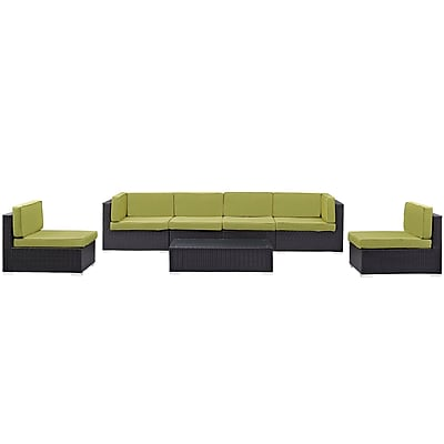 Modway Gather Outdoor Patio Sectional Set (EEI-1838-EXP-PER-SET)