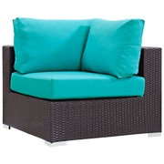 Modway Convene Outdoor Patio Corner Chair (EEI-1840-EXP-TRQ)