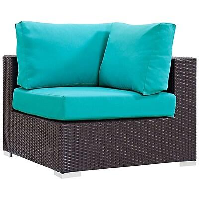 Modway Convene Outdoor Patio Corner Chair (EEI-1840-EXP-TRQ)