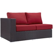 Modway Convene Outdoor Patio Left-Arm Loveseat (EEI-1842-EXP-RED)
