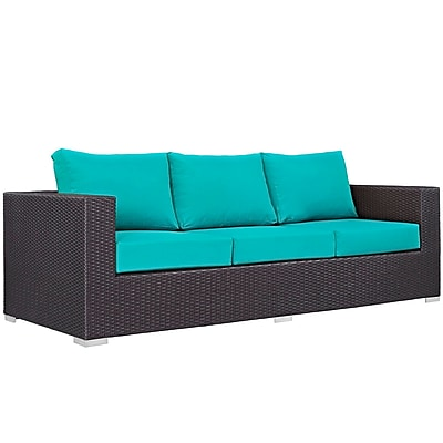 Modway Convene Outdoor Patio Sofa (EEI-1844-EXP-TRQ)