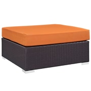 Modway Convene Outdoor Patio Square Ottoman (EEI-1845-EXP-ORA)