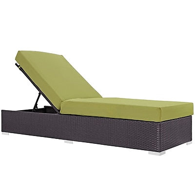 Modway Convene Outdoor Patio Chaise Lounge (EEI-1846-EXP-PER)