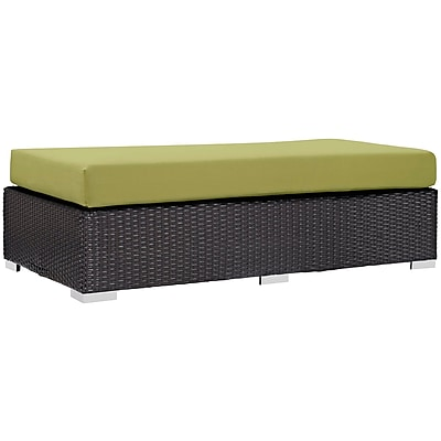 Modway Convene Outdoor Patio Rectangle Ottoman (EEI-1847-EXP-PER)
