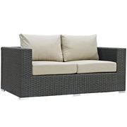 Modway Sojourn Outdoor Patio Loveseat (EEI-1851-CHC-BEI)