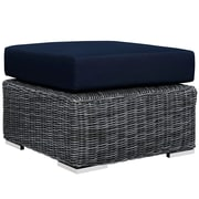 Modway Summon Outdoor Patio Ottoman (EEI-1869-GRY-NAV)