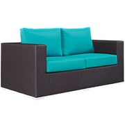 Modway Convene Outdoor Patio Loveseat (EEI-1907-EXP-TRQ)