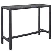 Modway Convene Outdoor Patio Bar Table, Espresso (EEI-1954-EXP)