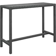 Modway Sojourn Outdoor Patio Bar Table (EEI-1956-CHC)