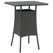 Modway Sojourn Outdoor Patio Bar Table (EEI-1958-CHC)