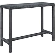 Modway Summon Outdoor Patio Bar Table, Gray (EEI-1959-GRY)