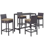 Modway Convene Outdoor Patio Pub Set (EEI-1964-EXP-MOC-SET)
