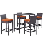 Modway Convene Outdoor Patio Pub Set (EEI-1964-EXP-ORA-SET)