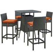 Modway Sojourn Outdoor Patio Pub Set  (EEI-1967-CHC-TUS-SET)
