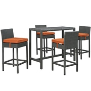 Modway Sojourn Outdoor Patio Pub Set (EEI-1968-CHC-TUS-SET)