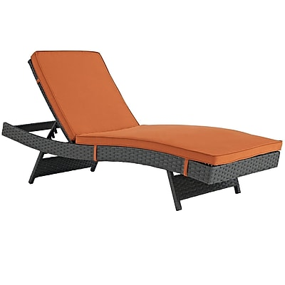 Modway Sojourn Outdoor Patio Chaise (EEI-1985-CHC-TUS)