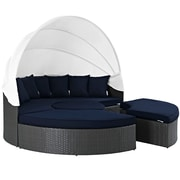 Modway Sojourn Outdoor Patio Daybed (EEI-1986-CHC-NAV-SET)