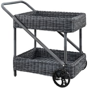 Modway Summon Outdoor Patio Beverage Cart (EEI-1990-GRY)