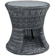 Modway Summon Outdoor Patio Side Table (EEI-1991-GRY)