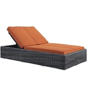 Modway Summon Outdoor Patio Chaise (EEI-1994-GRY-TUS)