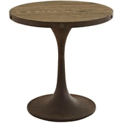 Modway Metal Side Table, Brown, Each (889654032083)