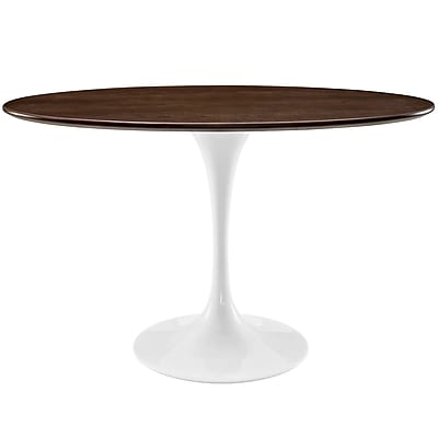 Modway 48'' Walnut Dining Table, Walnut (EEI-2019-WAL)