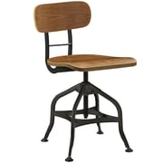 "Modway Mark 23""H Barstool, Brown (EEI-2044-BRN)"
