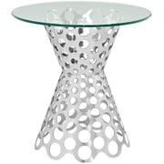 Modway Arrange Steel Side Table, Silver, Each (889654039792)
