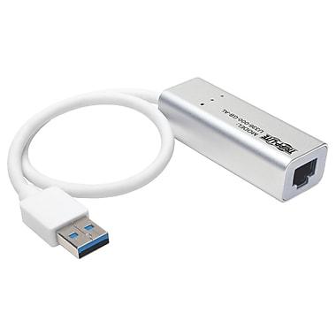 Tripp Lite – Adaptateur réseau USB 3.0 SuperVitesse à Gigabit Ethernet, USB 3.0, 1 port, 1 paire torsadée, (U336-000-GB-AL)