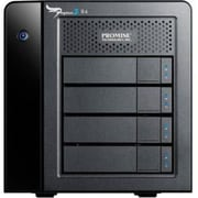 Promise Pegasus2 R4 DAS Array, 4 x HDD Supported, 4 x HDD Installed, 12 TB Installed HDD Capacity, Serial ATA Controller