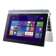 "Acer Aspire Switch 10 SW5-012P-18L0 10.1"" 2-in-1 Notebook, Atom Z3735F, 64GB SSD, 2GB RAM, Windows 10 Professional, Gray/Silver"