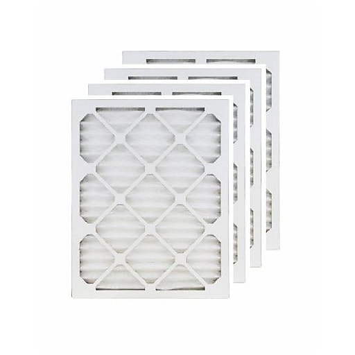 "Brighton Professional™ MERV 11 19.88"" x 21"" x 1"" (Actual Size) Pleated 1"" Air Filter, 4/Pack (FA19.88X21.5A_4)"