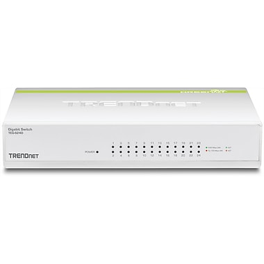 24-Port Gigabit GREENnet Switch TEG-S24D