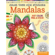 Color Your Own Sticker: Mandalas, Softcover (DO-5585)