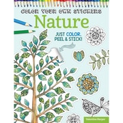 Color Your Own Sticker Nature, Softcover (DO-5590)