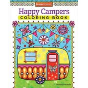 Happy Campers Coloring Book, Softcover (DO-5500)