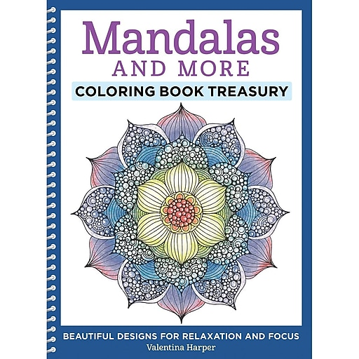 Mandalas And More Coloring Book Spiral Bound DO 5558