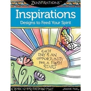 "Design Originals ""Zenspirations Insprirations,"" Softcover, Adult Coloring Book"
