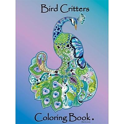 Earthart International Bird Creatures Coloring Book, Spiral-bound