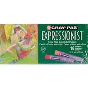 Sakura Cray-Pas Expressionist Oil Pastels, Assorted Colors, 12/pkg (XLP16)