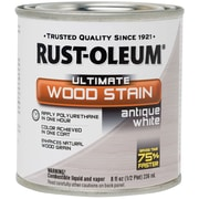 Rust-Oleum 8 oz Ultimate Wood Stain, Antique White (2603-81)