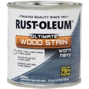 Rust-Oleum 8 oz Ultimate Wood Stain, Worn Navy (2603-83)