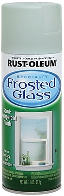 Rust-Oleum Frosted Glass 11 oz Semi-Transparent Finish Aerosol Spray, Sea Glass (257465)