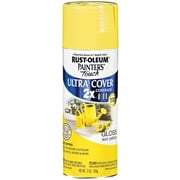 Rust-Oleum Painter's Touch 12 oz Ultra Cover Aerosol Paint, Sun Yellow (PTUC249-92)