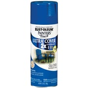 Rust-Oleum Painter's Touch 12 oz Ultra Cover Aerosol Paint, Brilliant Blue (PTUC249-120)